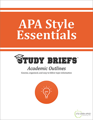 APA Style Essentials cover