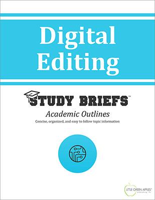 Digital Editing cover