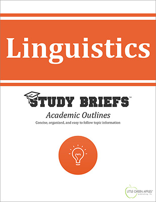 Linguistics cover