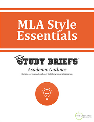MLA Style Essentials cover