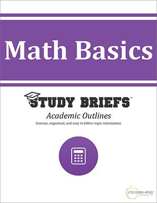 Math Basics cover