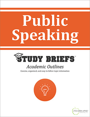 Public Speaking cover
