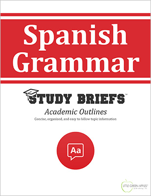 Spanish Grammar cover