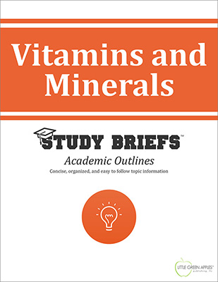 Vitamins and Minerals cover