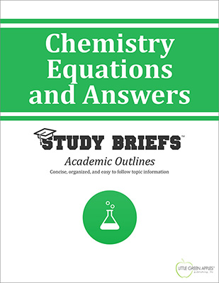 Chemistry Equations and Answers cover