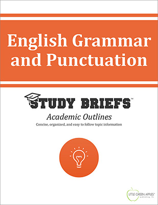 English Grammar and Punctuation cover