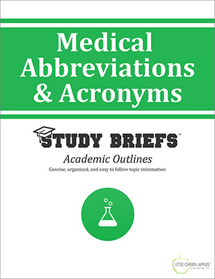 Medical Abbreviations and Acronyms cover