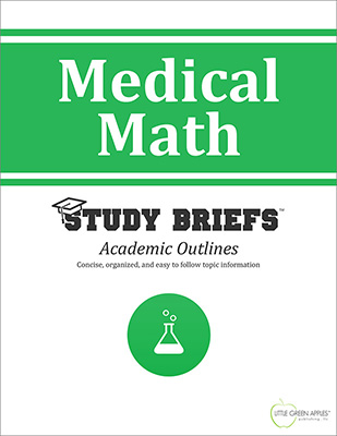 Medical Math cover