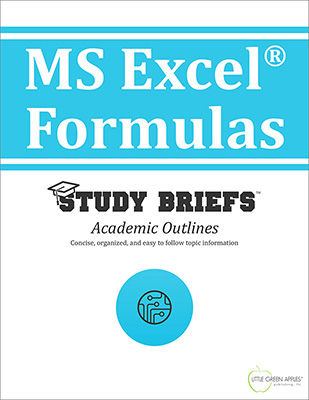 MS Excel Formulas cover