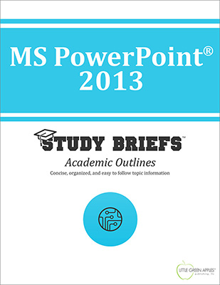 MS PowerPoint 2013 cover